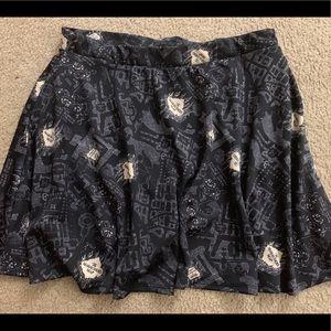 f07d25e23e Torrid Harry Potter Marauders Map Skirt